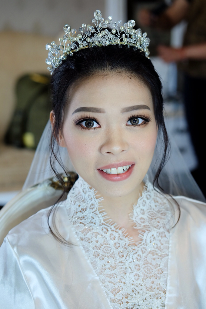 Bride Ms Erica by Verena Makeup Artist - 003