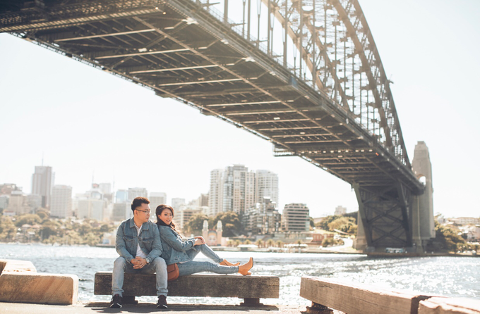 Richard & Jen at Sydney by Vermount Photoworks - 001