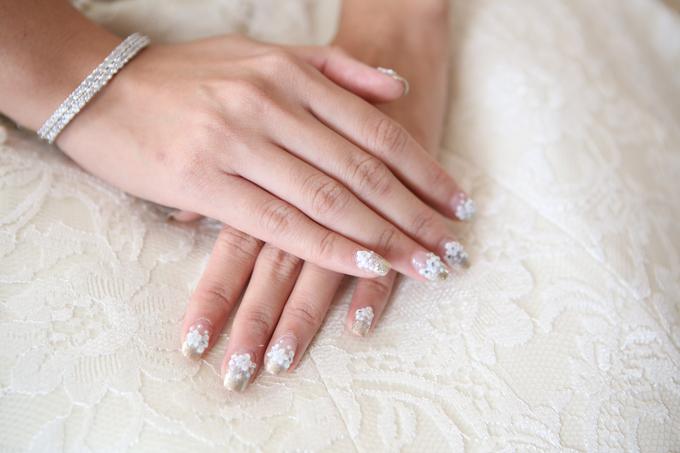 Bride Nails by VH Nails - 002