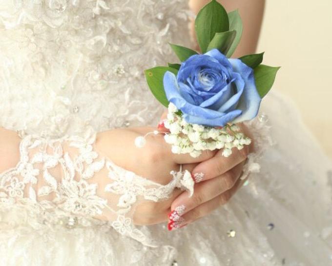 Bride Nails by VH Nails - 003