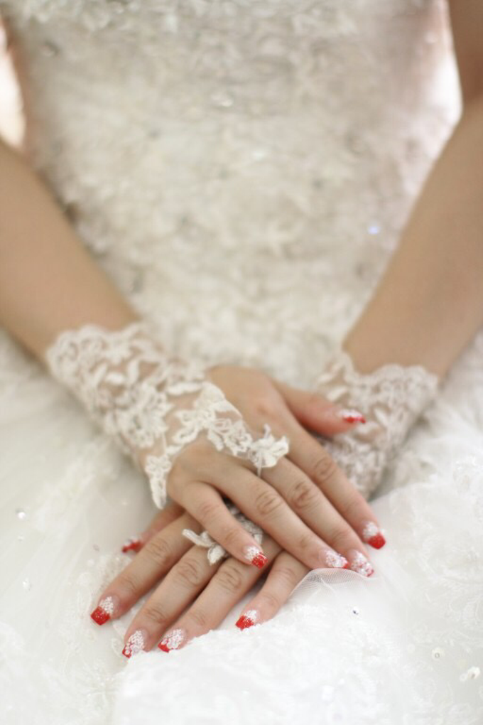 Bride Nails by VH Nails - 004