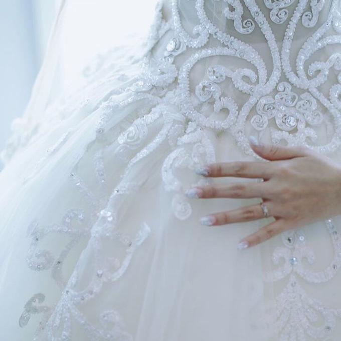 Bride Nails by VH Nails - 012