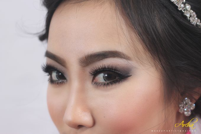 My Bridal Makeup by Archa makeup artist - 008