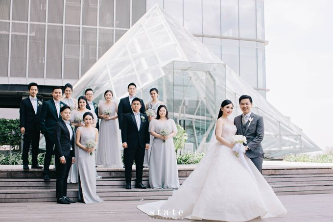 Wedding - Jonathan & Cindy by State Photography - 044