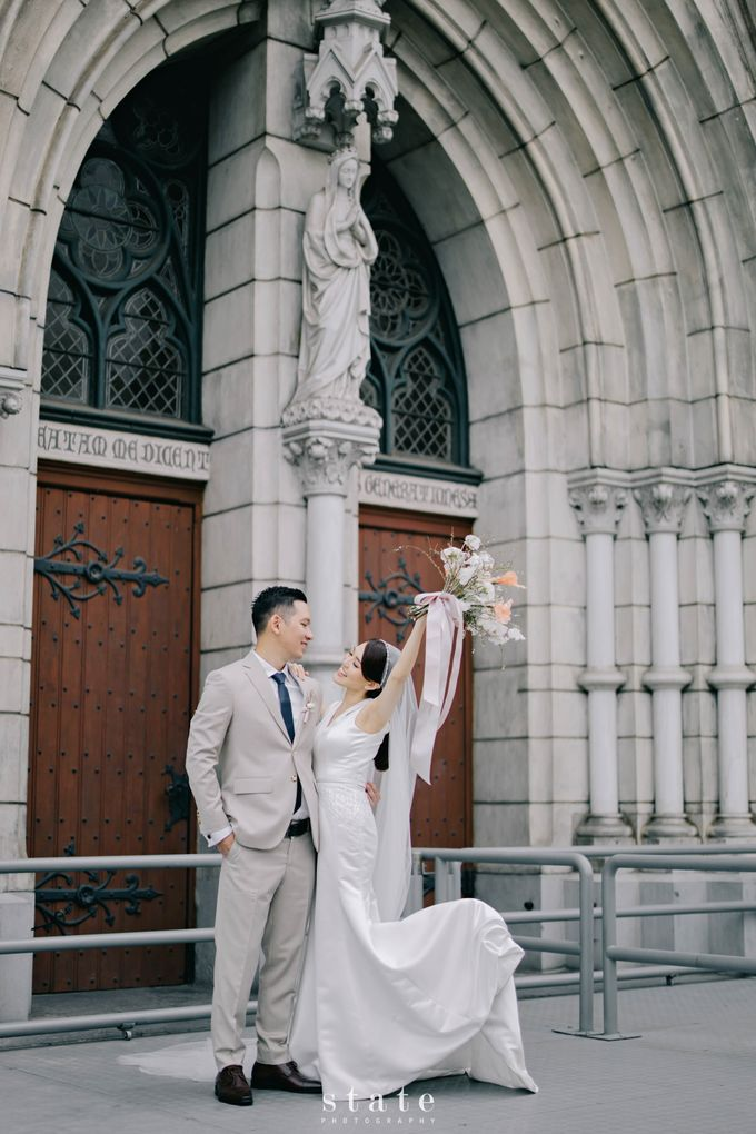 Wedding - Billy & Sharon by State Photography - 032