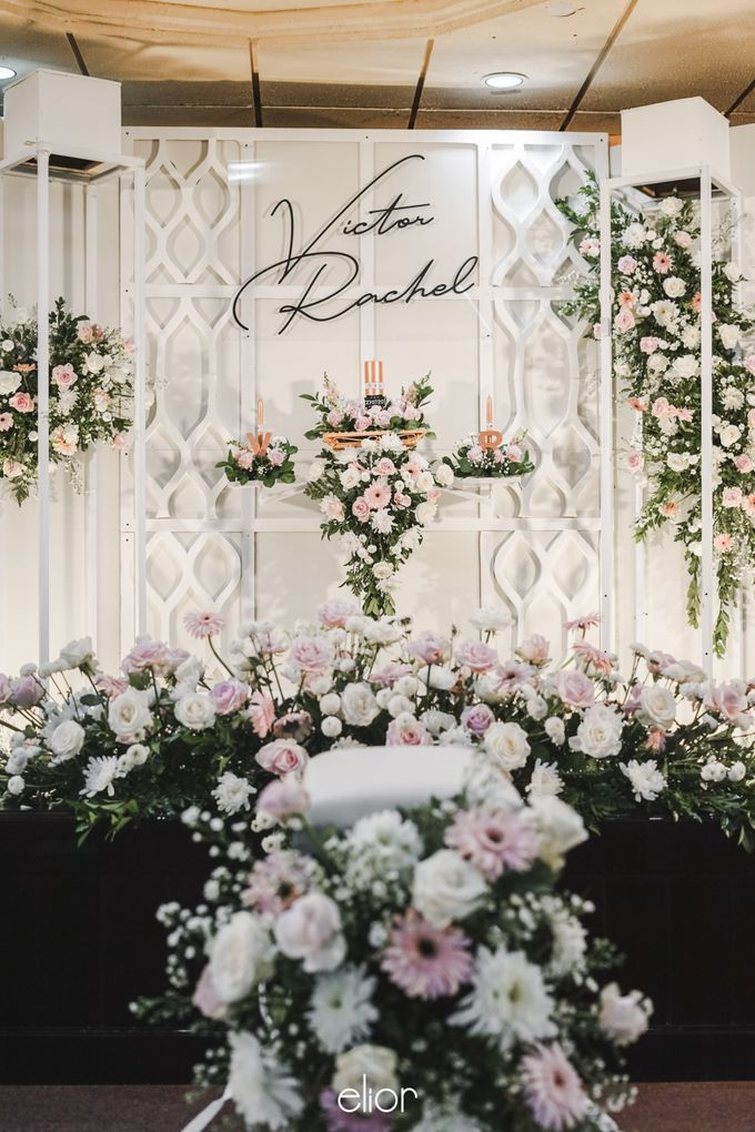 The Wedding of Victor and Rachel by Elior Design - 013