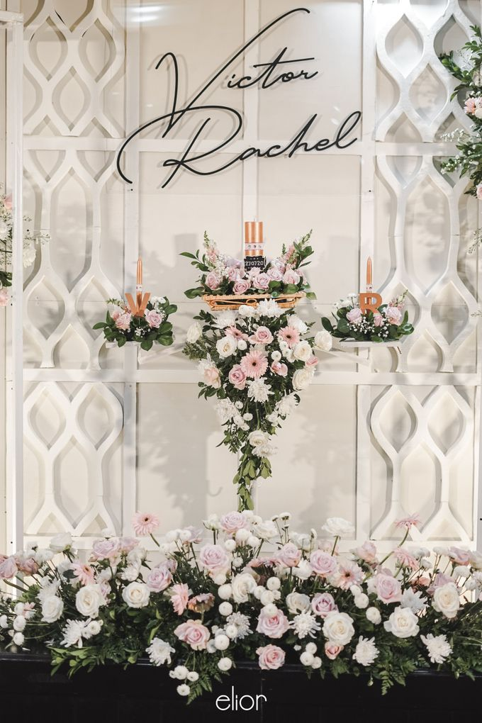 The Wedding of Victor and Rachel by Elior Design - 008