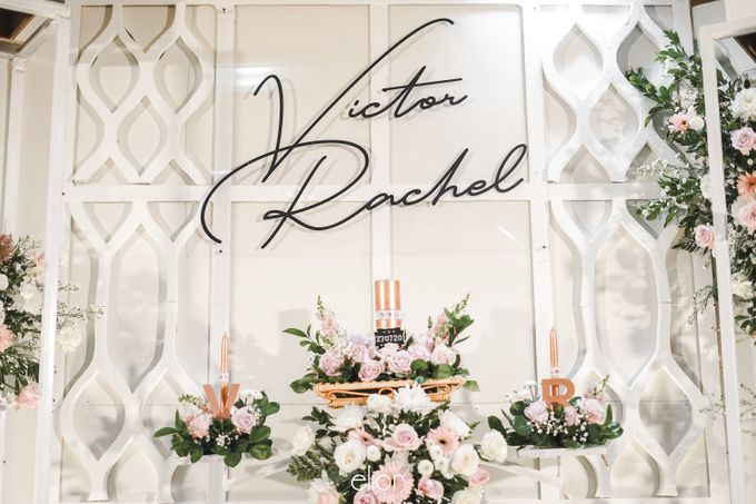 The Wedding of Victor and Rachel by Elior Design - 009