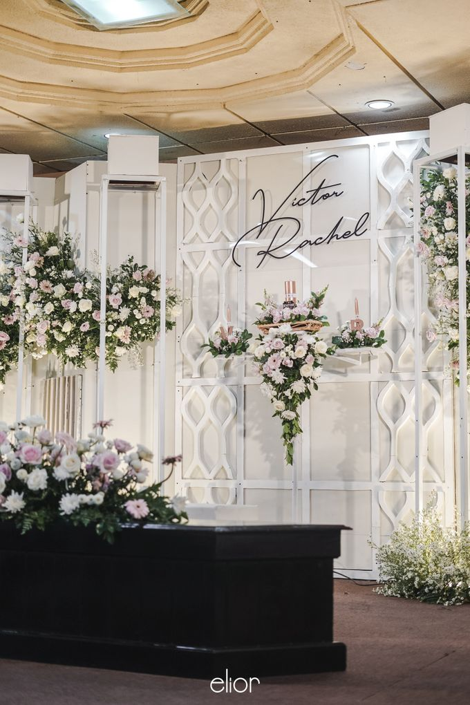 The Wedding of Victor and Rachel by Elior Design - 011
