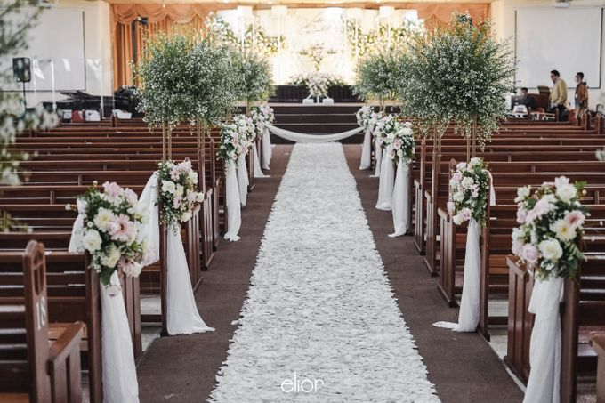 The Wedding of Victor and Rachel by Elior Design - 012