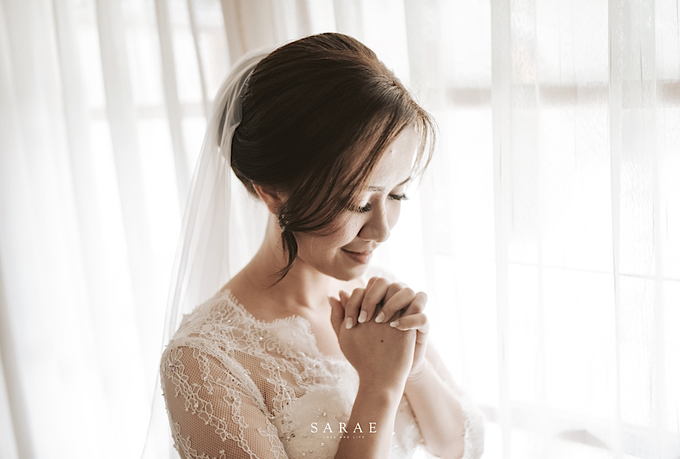 Karen & Erich (Wedding Gown)  by Sarae Foto - 004