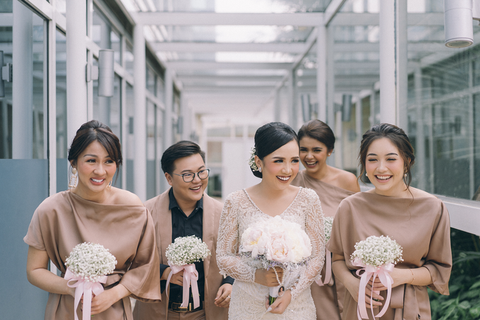 Juwita & Tessa (bride's ROBE & bridesmaids dress) by Vicuna - 003