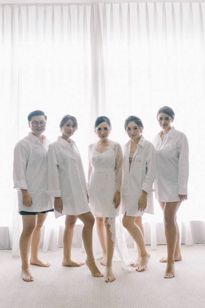 Juwita & Tessa (bride's ROBE & bridesmaids dress) by Vicuna - 007