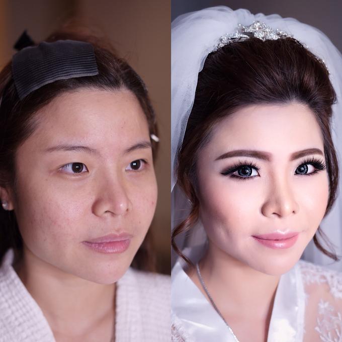Wedding of Charlie And Yunita by Vidi Daniel Makeup Artist managed by Andreas Zhu - 002