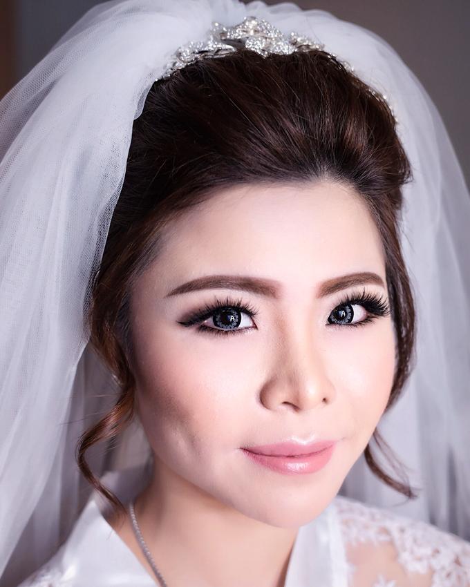 Wedding of Charlie And Yunita by Vidi Daniel Makeup Artist managed by Andreas Zhu - 003