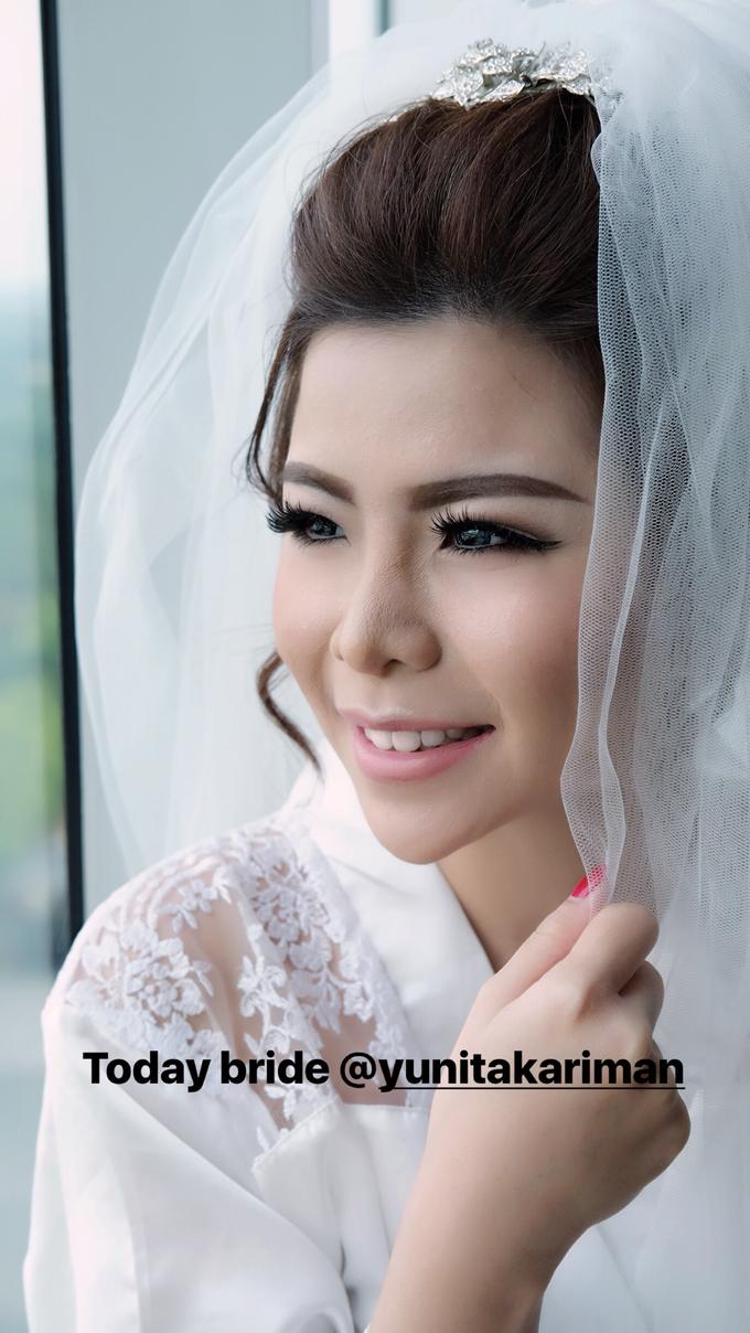 Wedding of Charlie And Yunita by Vidi Daniel Makeup Artist managed by Andreas Zhu - 004