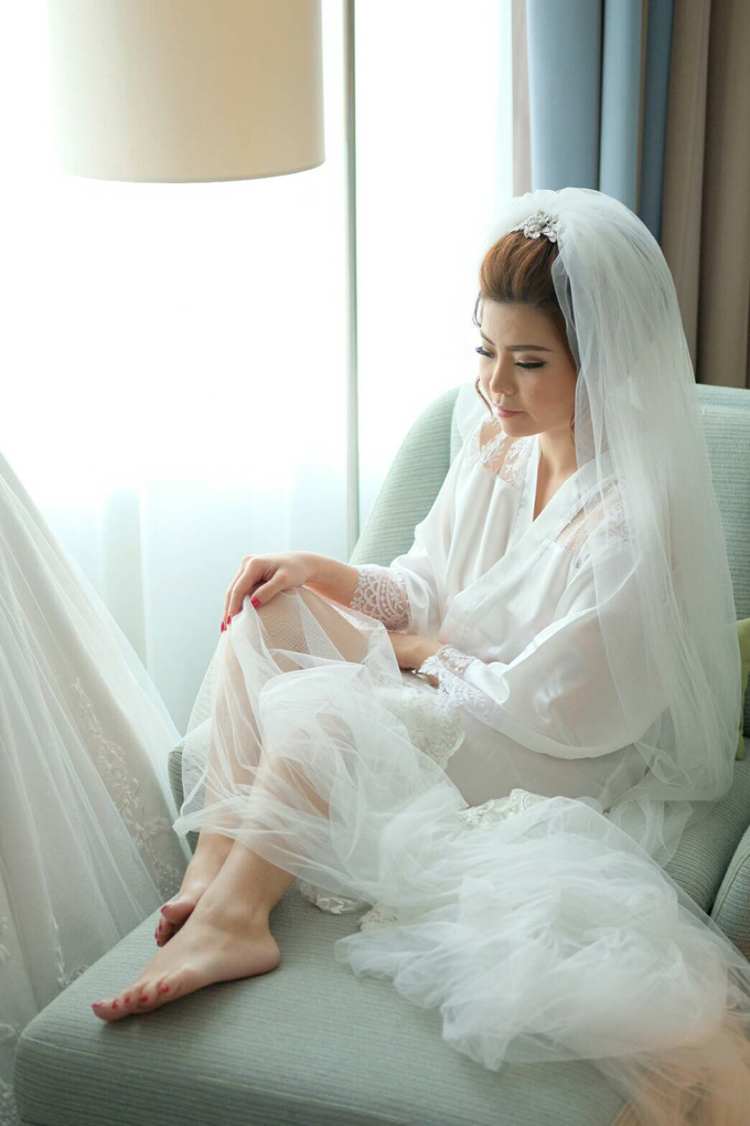 Wedding of Charlie And Yunita by Vidi Daniel Makeup Artist managed by Andreas Zhu - 009