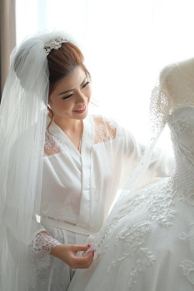 Wedding of Charlie And Yunita by Vidi Daniel Makeup Artist managed by Andreas Zhu - 010