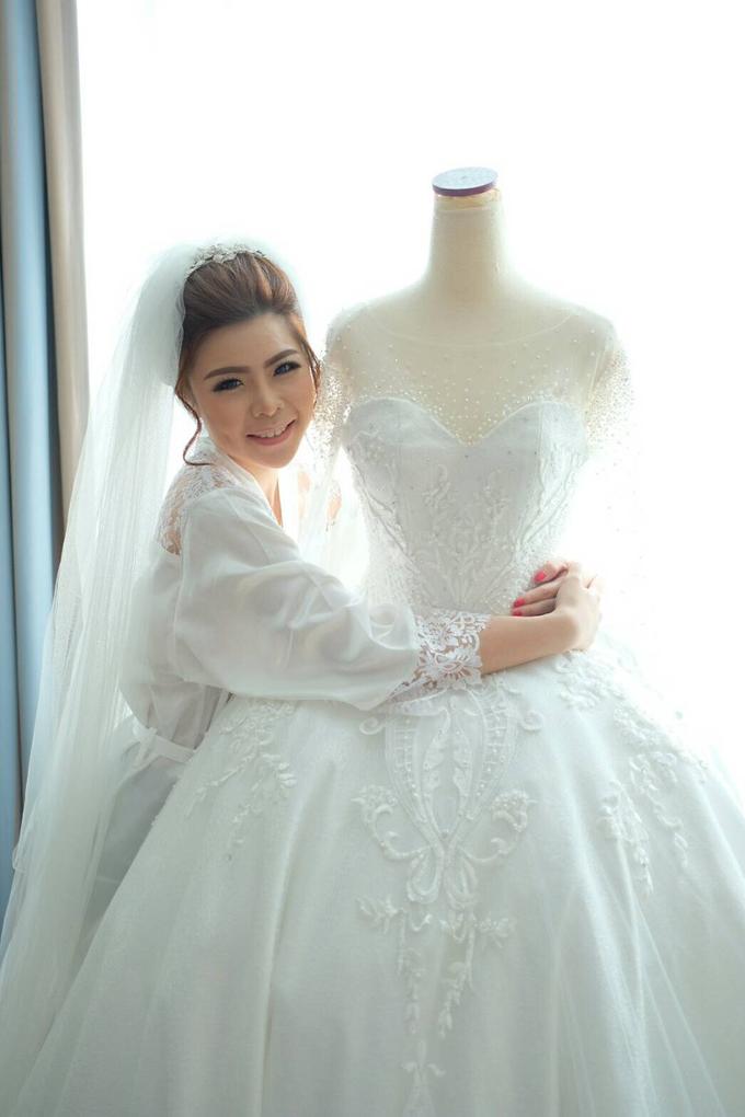 Wedding of Charlie And Yunita by Vidi Daniel Makeup Artist managed by Andreas Zhu - 015