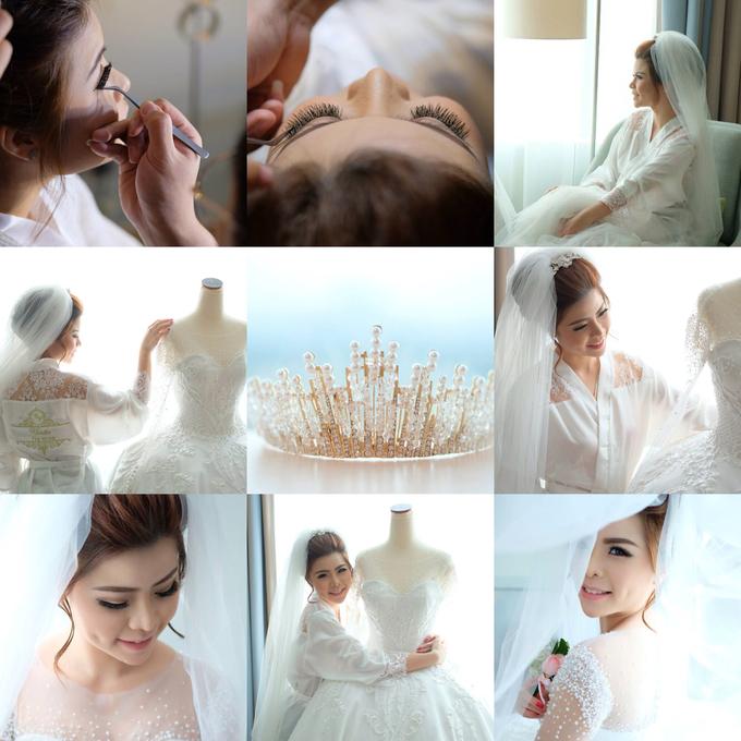 Wedding of Charlie And Yunita by Vidi Daniel Makeup Artist managed by Andreas Zhu - 016