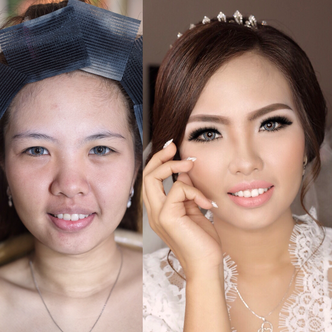 Wedding Bernhard and Mellisa by Vidi Daniel Makeup Artist managed by Andreas Zhu - 001