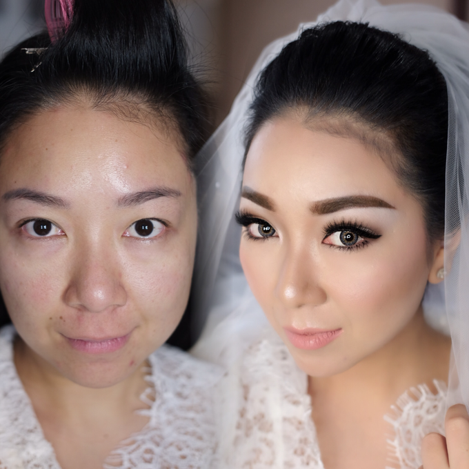 Wedding of Yuris and Retha by Vidi Daniel Makeup Artist managed by Andreas Zhu - 001