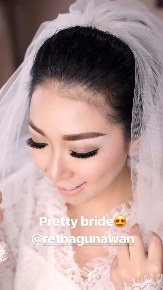 Wedding of Yuris and Retha by Vidi Daniel Makeup Artist managed by Andreas Zhu - 004