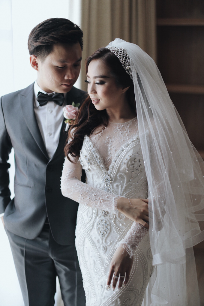 Wedding of Jason and Theresia by Vidi Daniel Makeup Artist managed by Andreas Zhu - 012