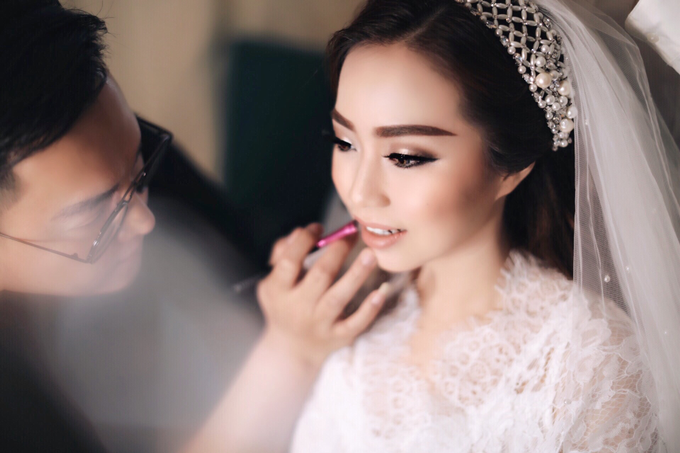Wedding of Jason and Theresia by Vidi Daniel Makeup Artist managed by Andreas Zhu - 013
