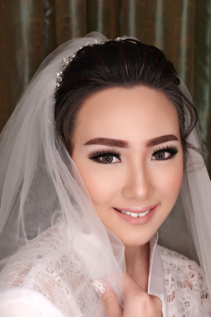 Wedding of Haryanto and Mellisa by Vidi Daniel Makeup Artist managed by Andreas Zhu - 004