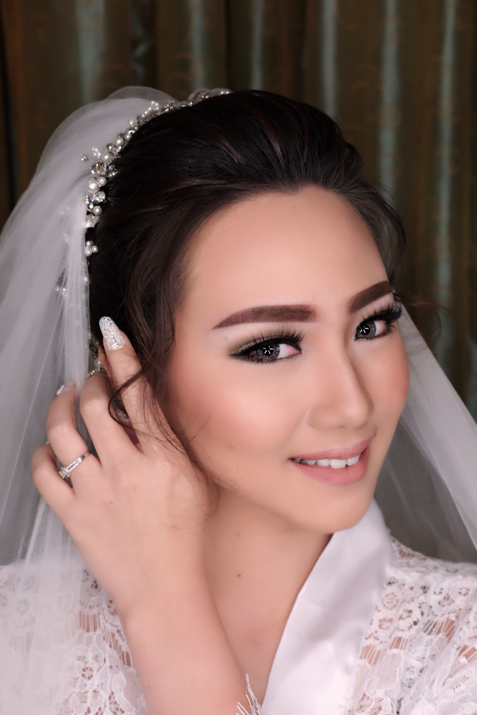 Wedding of Haryanto and Mellisa by Vidi Daniel Makeup Artist managed by Andreas Zhu - 005
