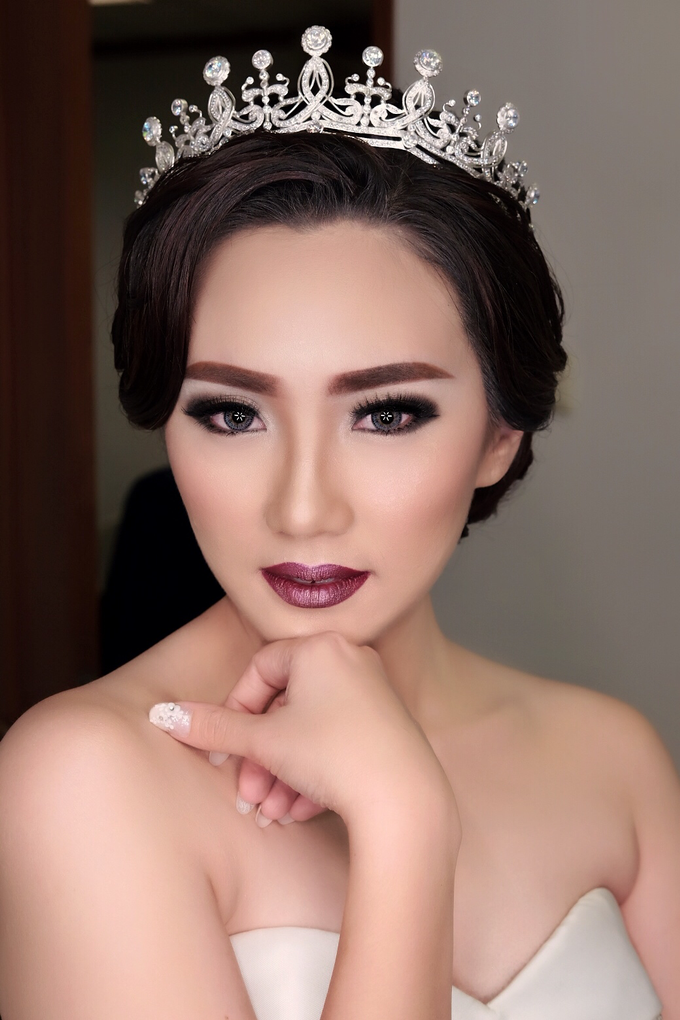 Wedding of Haryanto and Mellisa by Vidi Daniel Makeup Artist managed by Andreas Zhu - 006