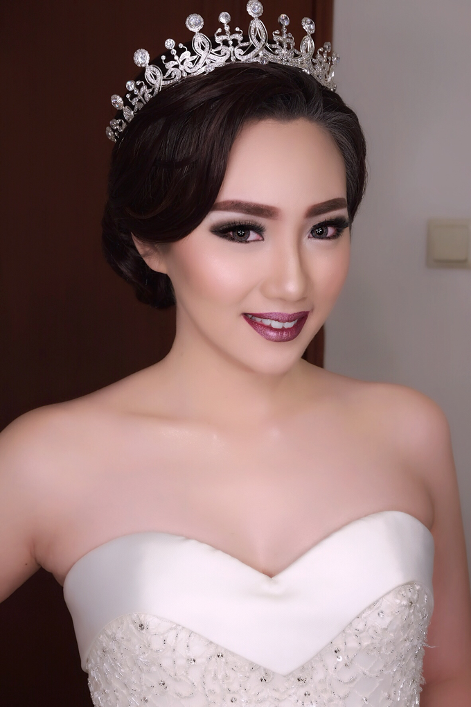 Wedding of Haryanto and Mellisa by Vidi Daniel Makeup Artist managed by Andreas Zhu - 009
