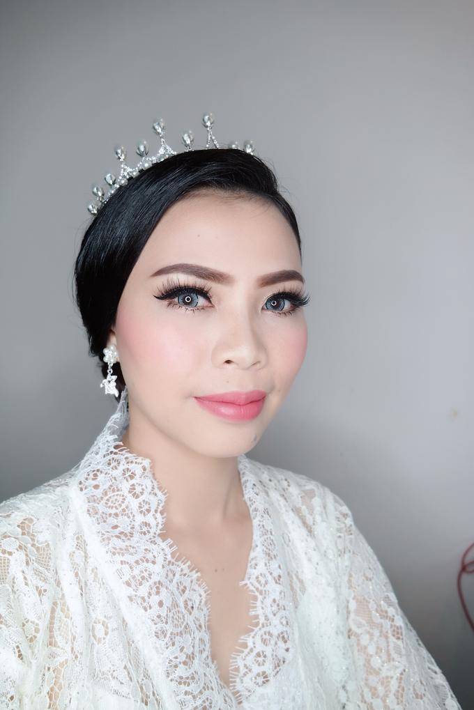 The wedding - Novia by vinamakeupartist - 004