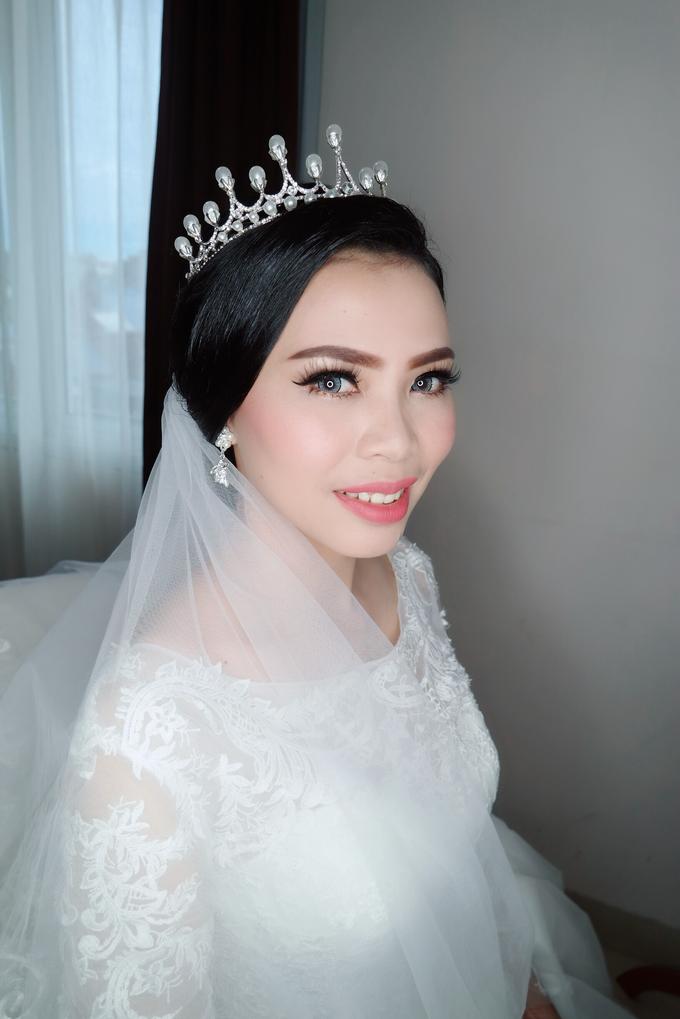 The wedding - Novia by vinamakeupartist - 003