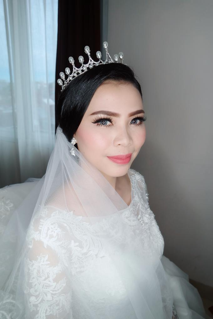 The wedding - Novia by vinamakeupartist - 005