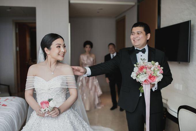 Prosesi Penjemputan Vincent & Beatrice by Skenoo Hall Emporium Pluit by IKK Wedding - 006