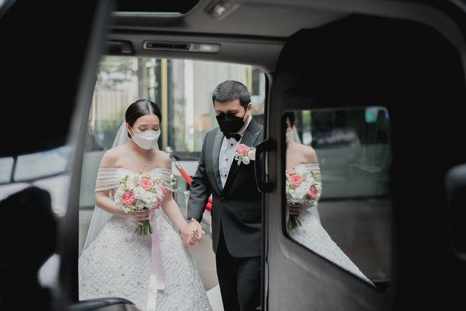 Prosesi Penjemputan Vincent & Beatrice by Skenoo Hall Emporium Pluit by IKK Wedding - 003