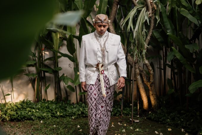 Vinsca & Ivan Wedding at Azila Villa by AKSA Creative - 002