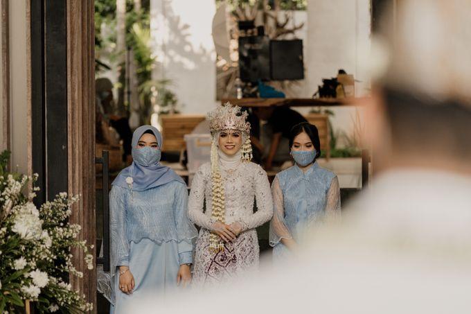 Vinsca & Ivan Wedding at Azila Villa by AKSA Creative - 009