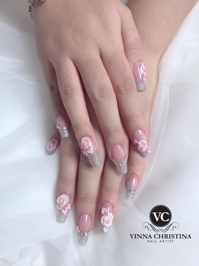 Glamour Wedding Nails By Vinna Christina Wedding Nails Bridestory