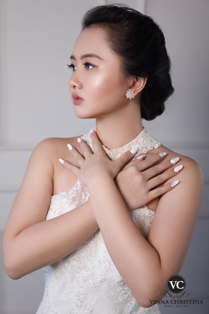 Very White Wedding Nail by UTOPIA STUDIO - 001