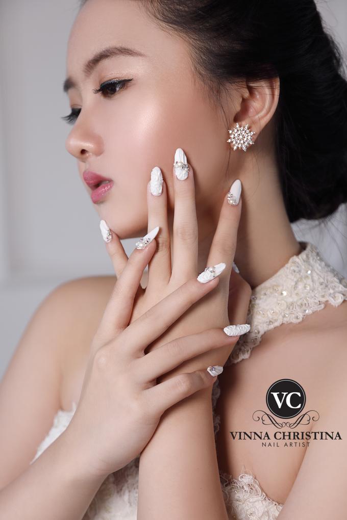 Very White Wedding Nail by UTOPIA STUDIO - 002