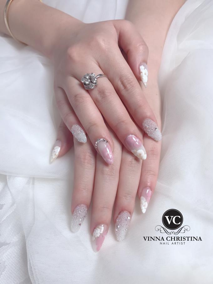 Elegant Wedding Nails by Vinna Christina Wedding Nails   Bridestory.com