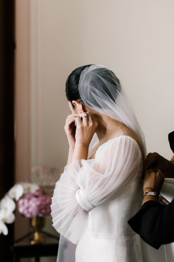 Ivan & Virly Wedding by Priscilla Myrna - 002