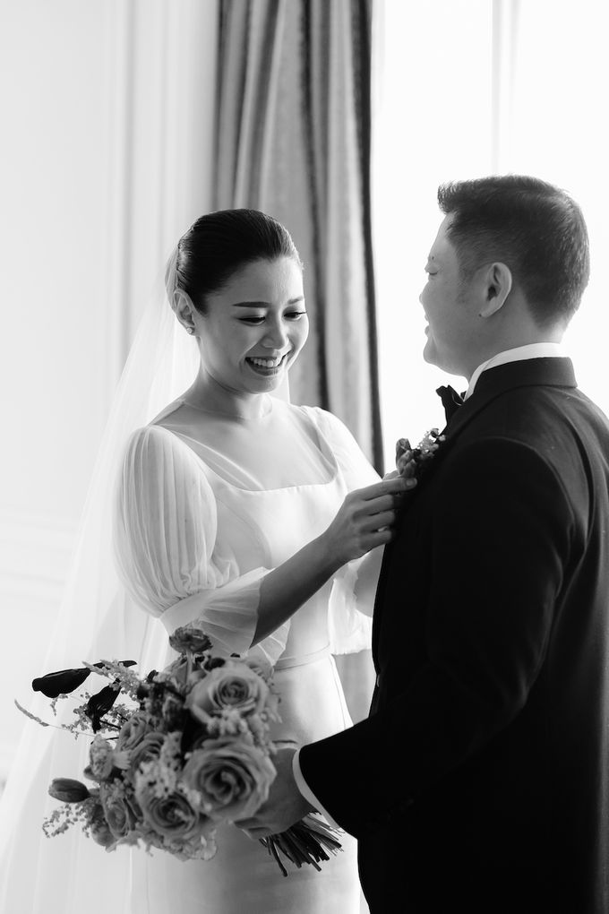 Ivan & Virly Wedding by Priscilla Myrna - 003