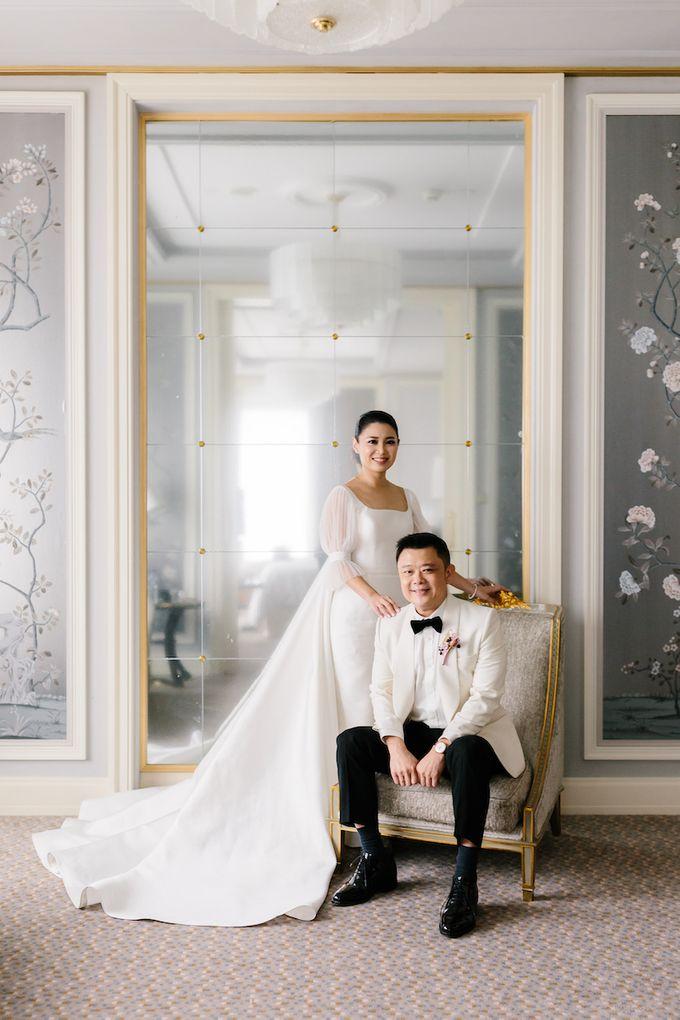 Ivan & Virly Wedding by Priscilla Myrna - 004