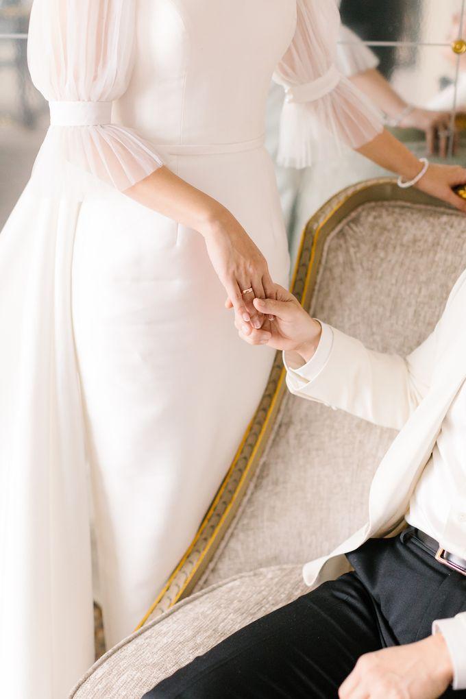 Ivan & Virly Wedding by Priscilla Myrna - 005
