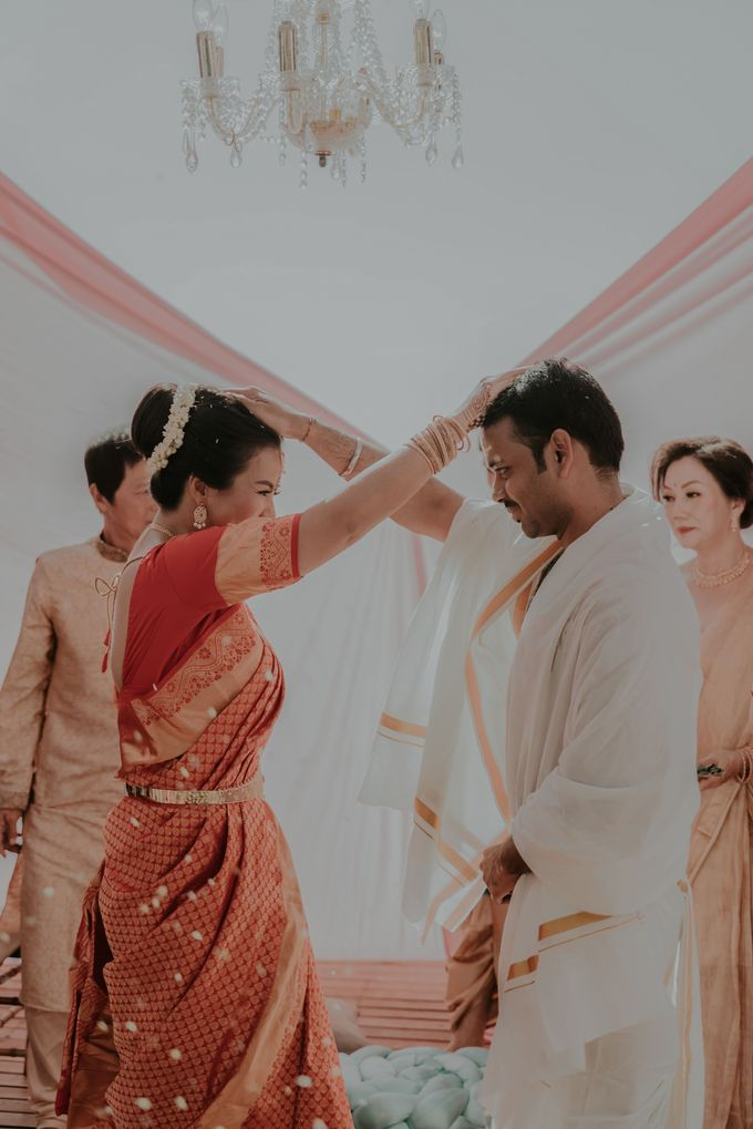 Vivi & Prasanth Wedding by Delapan Bali Event & Wedding - 037