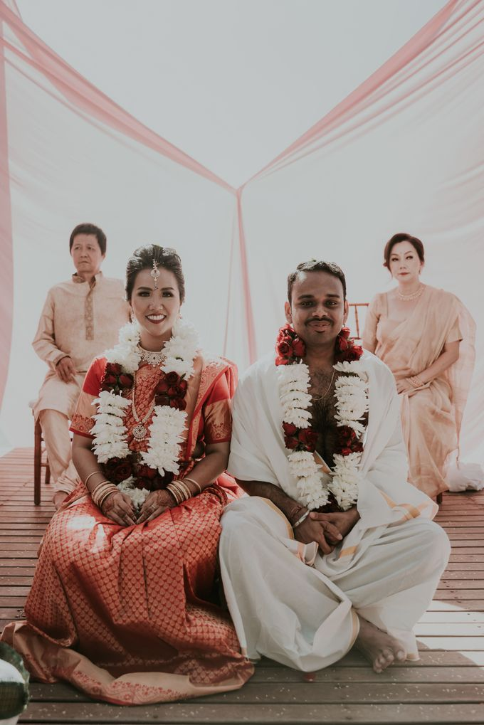 Vivi & Prasanth Wedding by Delapan Bali Event & Wedding - 038